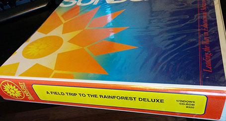 Binder for Rainforest Deluxe
